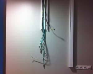emplacement d'installation d'une armoire informatique