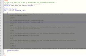post.php wordpress formulaire texte par défaut