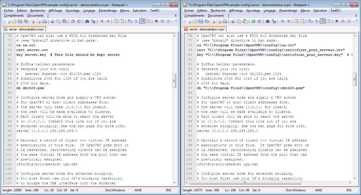 OpenVPN Windows PC Client Configuration Steps