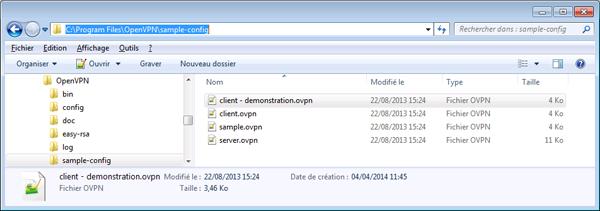 10 - OpenVpn - Fichier de configuration ordinateur client pour Microsoft Windows-600