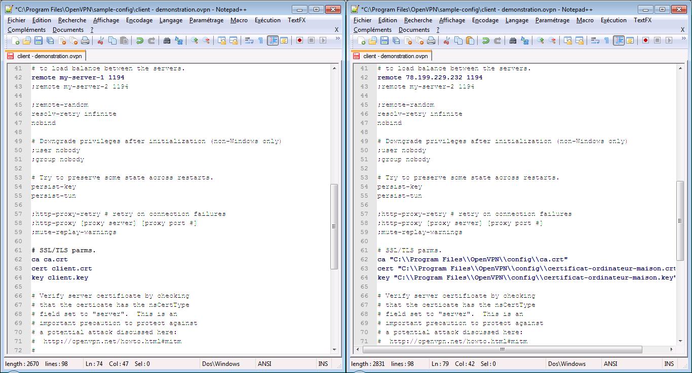 CAPI-EARS | Configurer OpenVPN serveur sur Windows