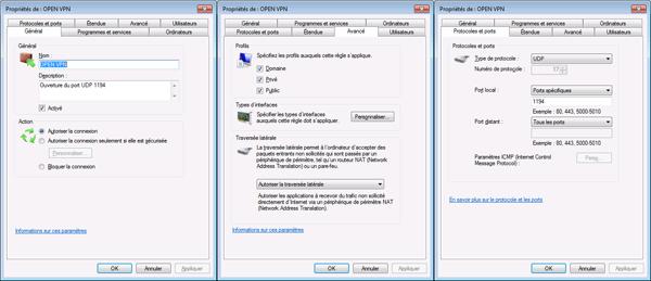 12 - OpenVPN - firewall - parefeu - autoriser le traffic sur microsoft windows-HD-600px