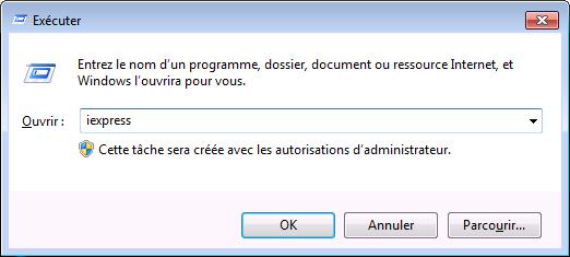 Prise d'écran de l'assistant d'invite de commande Microsoft