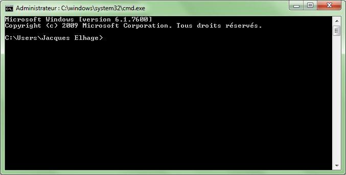 Capi ears ex cuter un fichier jar sur windows for Ouvrir une fenetre ms dos